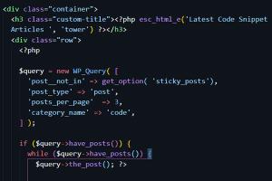 WordPress custom query using WP_Query